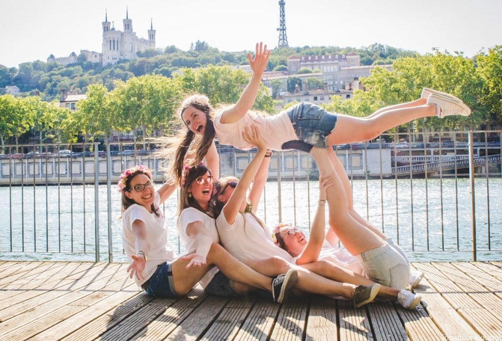 Shooting EVJF Fun sur Lyon